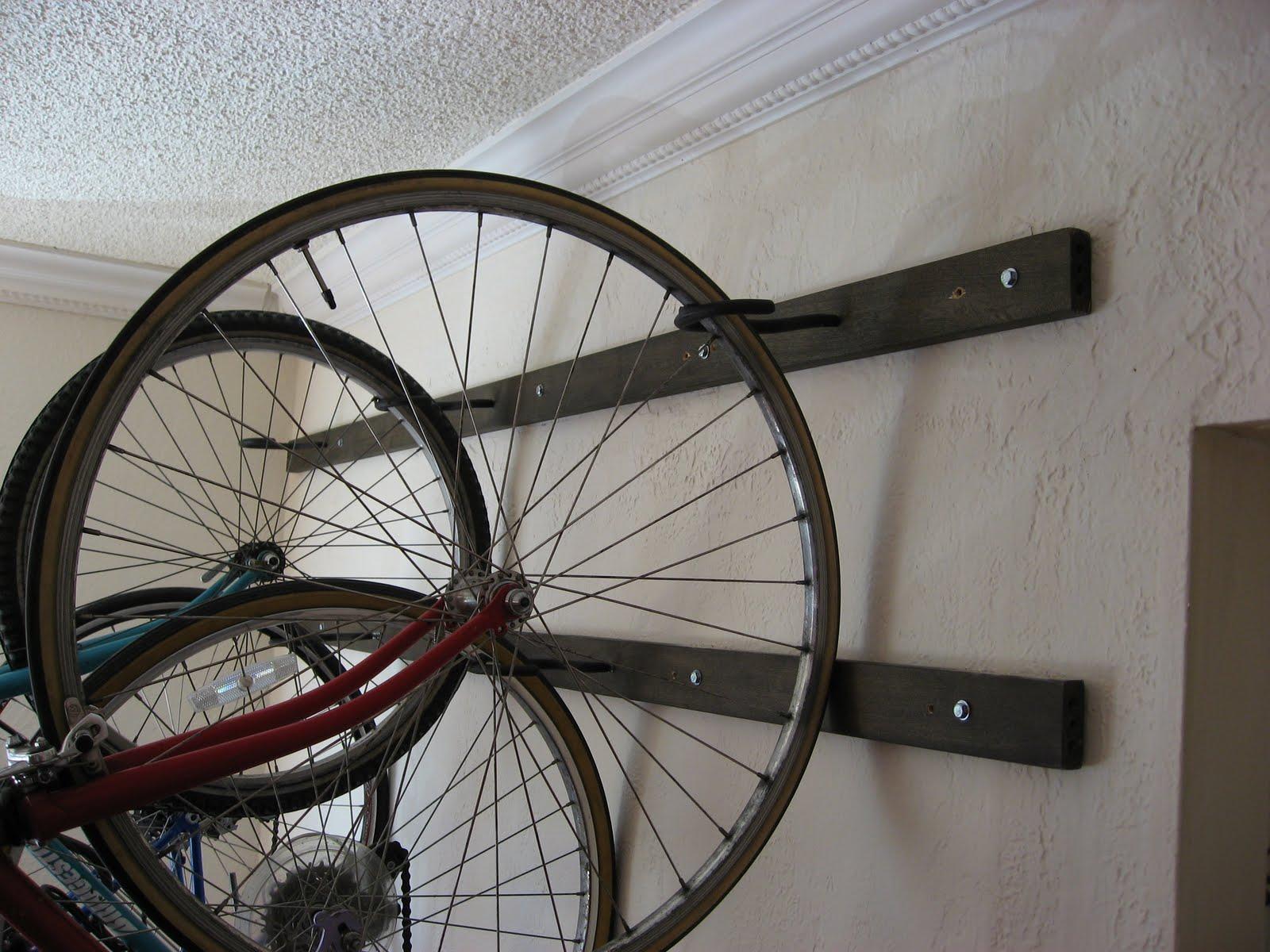 Girl on Bike: Post #100!!! My Brand New, Homemade, Wall ...
